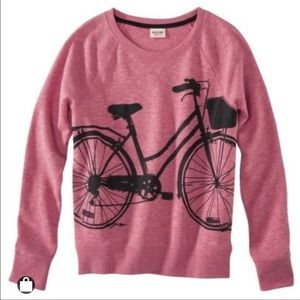 Mossimo Bicycle Sweatshirt SMALL